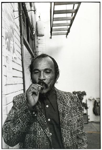 Ira Nowinski | Portrait of Bob Kaufman 1980 gelatin silver print overall  (1980) | MutualArt
