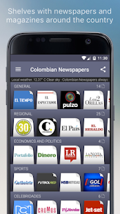 Colombian Newspapers- screenshot thumbnail
