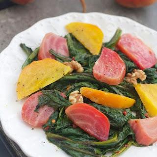 Beet Greens and Beet Salad