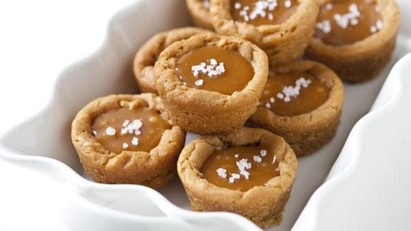 Salted Caramel Cookie Cups Recipe