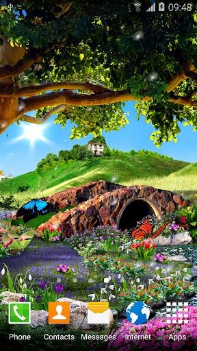 3D Butterfly Live Wallpaper 1.0.5 screenshots 1