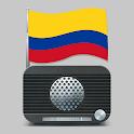 Radio Colombia - Radio AM y Radio FM Gratis icon