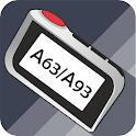 StarLine A93, A63 Инструкция, вертикальный брелок icon