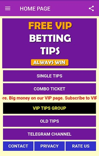 Download Betting Tips FREE VIP APK latest version app by Master