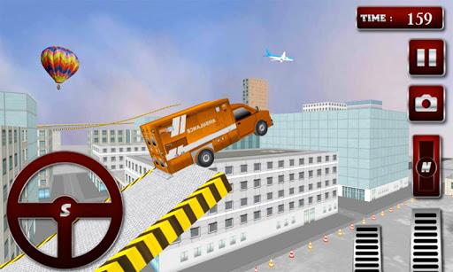 救護車屋頂賽車3D