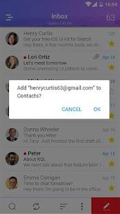 E-mail - poštovní schránka - náhled