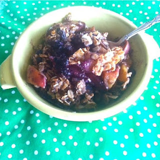 Peach Blueberry Crisp Recipe
