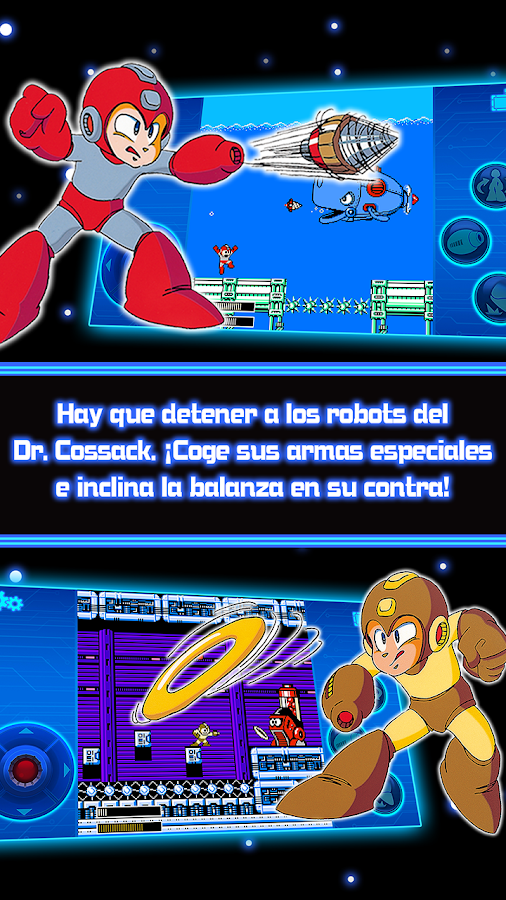MEGA MAN 4 MOBILE: captura de pantalla