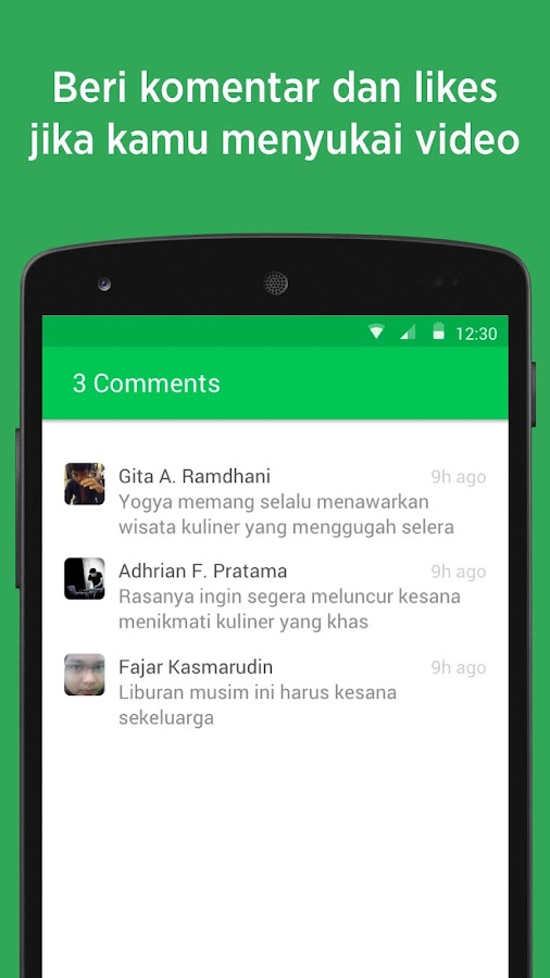 NET. Jalan Jalan- screenshot