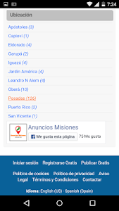 Anuncios Misiones screenshot 2