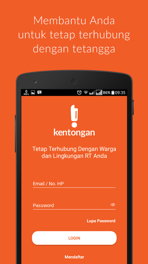 Kentongan- screenshot