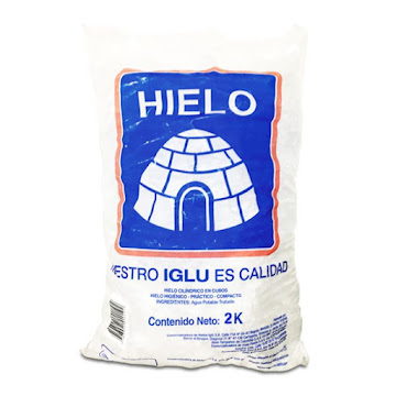 Hielo Iglu Bolsa 100%   Micro filtrado X2Kg.