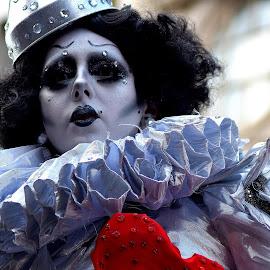Gothic  clown by Gordon Simpson - People Street & Candids