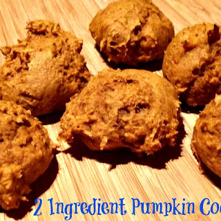 Pumpkin Cookies Only 2 Ingredients