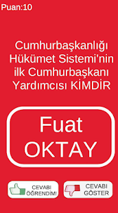 Download KPSS 2020 GÜNCEL BİLGİLER SORU CEVAP For PC Windows and Mac apk screenshot 2