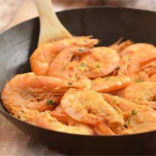 Singaporean Salted Egg Shrimps