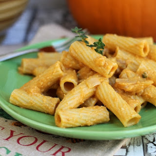 Vegan Creamy Pumpkin Pasta