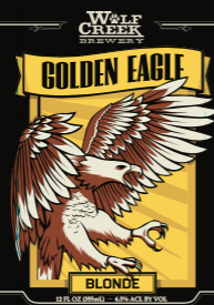 Logo of Wolf Creek Golden Eagle Ale