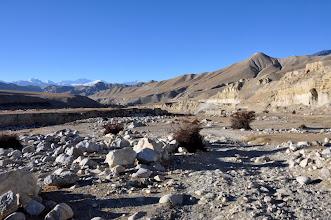 Photo: Sur la piste de Lo Monthang à Arka