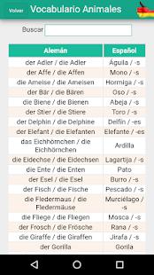 Aprende Alemán - Vocabulario - náhled