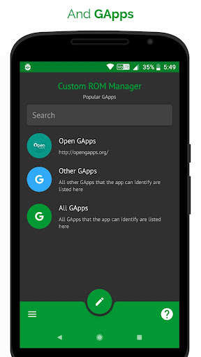 [ROOT] Custom ROM Manager (Pro)  screenshots 2