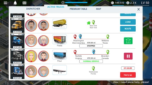 Virtual Truck Manager - Tycoon trucking company 1.1.22 de.gamequotes.net 3