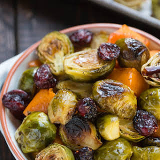 Roasted Butternut Squash And Brussel Sprouts Recipes.