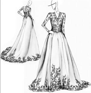 Šaty návrhu šaty - náhled