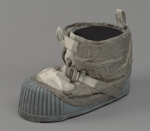 Boot, Left, Lunar Overshoe, Cernan, Apollo 17, Flown