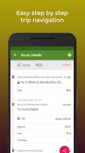 Zophop: Live Bus & Train Timings- screenshot thumbnail