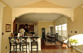 Photo: (After) Arched beam with corbels at breakfast room - KJ's Downigtown, PA