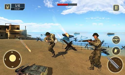 World War 2 Army Squad Heroes : Fps Shooting Games 1.0.7 de.gamequotes.net 2