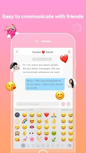 MeMe Live - Live Stream Video Chat & Make Friends - náhled