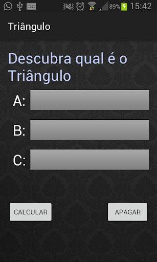 Classificação do triângulo