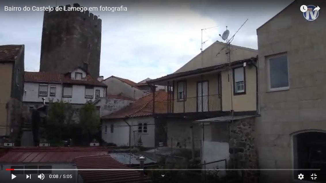 Vídeo - Bairro do Castelo de Lamego em fotografia