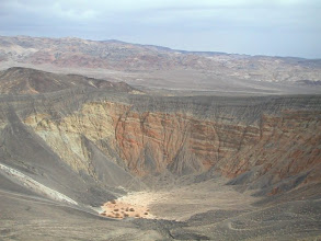 Photo: Crater Death valley NP
