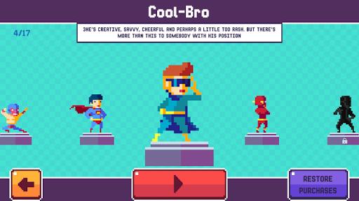 Pixel Superheroe Adventures