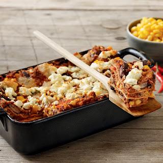 """Lasagne """"Chili con Carne"""" mit Mais und Bohnen"""