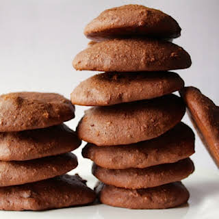 (Low Fat) Chewy Chocolate, Chocolate Chip Cookies.