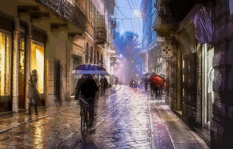 Pioggia in città di davide_giovanni_volpi