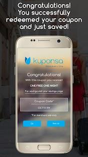 Kuponsa - Save every time - náhled