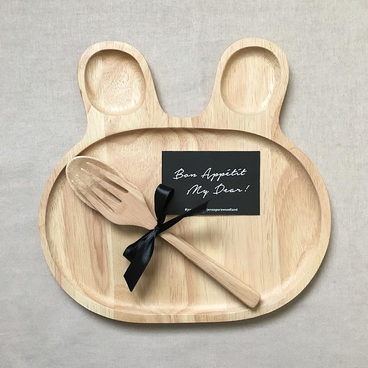 Bunny Plate Set