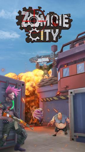 Zombie City HD screenshot 1