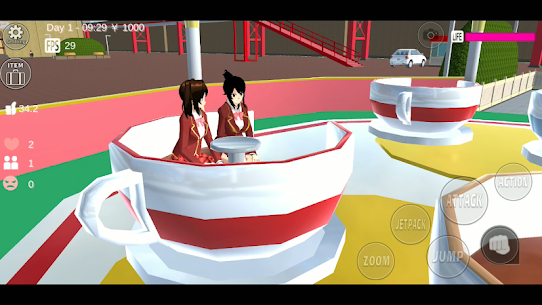SAKURA School Simulator MOD APK [Unlimited Money, Unlocked All] 4