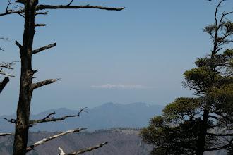 山頂から中央アルプス