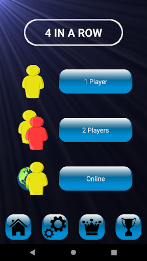 4 in a row - Board game for 2 players Apk 2