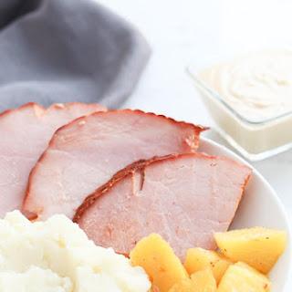"Pressure Cooker ""Smoked"" Ham Recipe"