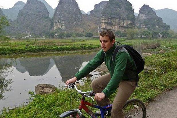 Biking in Tam Coc