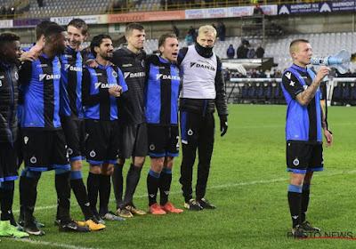 Jordy Clasie était titulaire avec le Club de Bruges contre Lokeren
