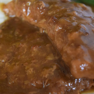 Crock Pot Country Steak with Gravy.